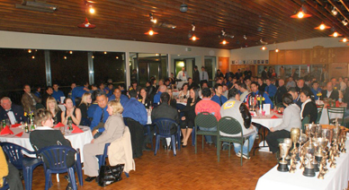 MSP's clubrooms in Hataitai, pictured here on prizegiving night
